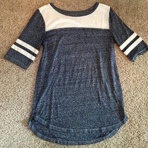 Varsity stripe Tee Shirt!